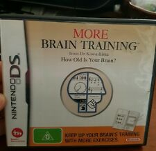 More Brain Training - NDS - Nintendo DS - FREE POST