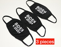 Biden 2020 Face Mask - 3 pcs Reusable & Washable Face Cover Double Layers