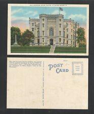 1940s OLD LOUISIANA STATE CAPITAL AT BATON ROUGE LA POSTCARD