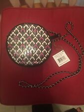 Vera Bradley Canterberry Magenta Sequin Shimmer Evening Bag Handbag 12522-149