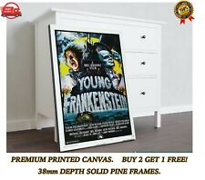 More details for young frankenstein classic movie large canvas art print gift a0 a1 a2 a3 a4