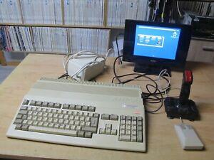 Amiga 500 1 MB Ram Netzteil RGB Scart-Kabel Maus Joystick