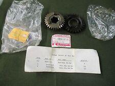 KAWASAKI KX250 1980-81, KDX250 1980, OUTPUT GEAR SET 3RD 4TH NOS 13101-5031