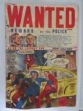 WANTED # 14, 1948, G/VG, MARIJUANA STORY, MORT LEAV, BIG JACK ZARTO, GOLDEN AGE