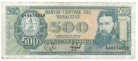 Banknote Paraguay - 500 Guaranies