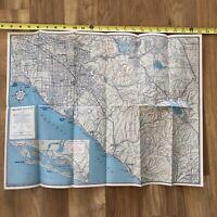 Vintage AAA roadmap orange county California