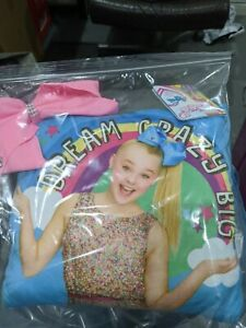 Jojo Siwa Cushion with detachable bow 22cm new with tags