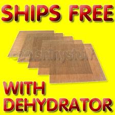 Non-Stick Teflon Dehydrator Sheet Drying 14x14 for Excalibur 2500 2900 3500 3900