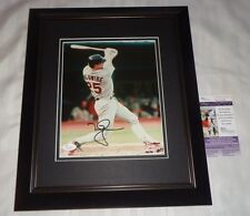 Mark McGwire St. Louis Cardinals signed Framed and Matted 8x10 photo JSA Q30348