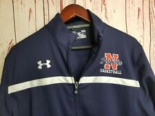 Northern High School Jacket Patriots Basketball Under Armour Sz L Full Zip Loose