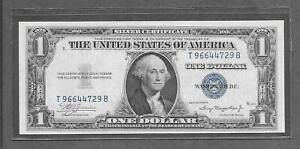 1935 A - $1 CCU * Miscut * Silver Certificate Note