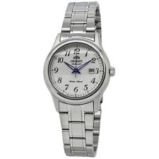 Orient Automatic White Dial Stainless Steel Ladies Watch FNR1Q00AW0