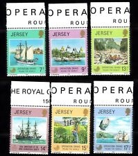 "JERSEY #236-241 MNH SCIENTIFIC EXPEDITION ""OPERATION DRAKE"""