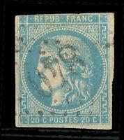 FRANCE Yvert # 44 B Used