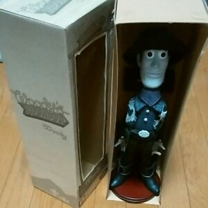 Japan Limited item Toy Story Woody Doll Roundup Black and White From JAPAN