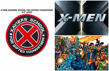 "Marvel Comics X-Men - Xaviers School for Gifted Youngsters 3.5"" Patch US Seller"