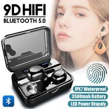 Bluetooth 5.0 TWS Auriculares Inalambricos Sport estéreo Para phone in-ear
