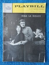 Irma La Douce - Plymouth Theatre Playbill - May 1st, 1961 - Elizabeth Seal