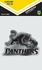 620136 PENRITH PANTHERS CHROME DECAL NRL CAR STICKERS ITAG
