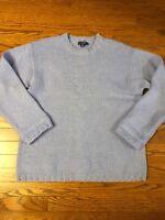 J.Crew Women's Size LARGE Lavender Marnie Crewneck Knit Sweater Merino Wool