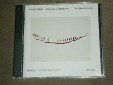 Andras Schiff Beethoven Piano Sonatas Volume 1 ECM Dbl CD sealed