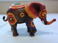 "Westland Tusk "" African Flowers "" - Elephant Ornament In Styrofoam"
