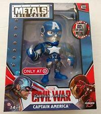 """Civil War Captain America 4"""" Inch Metal Figure"""