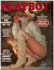 Nov 1978 issue of Playboy Bunnies of 1978