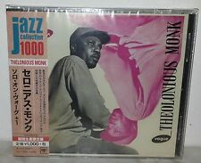 CD THELONIOUS MONK - PIANO SOLO - JAPAN SICP 3980