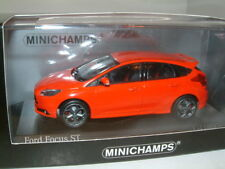 1/43 MINICHAMPS FORD FOCUS ST IN RED 2011 MODEL MK3