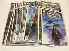 STAR WARS X-WING ROGUE SQUADRON #1-35 (DARK HORSE/111657) COMPLETE SET LOT OF 36