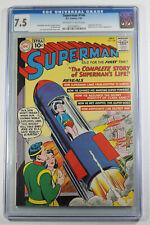 Superman #146 (DC, 1961) CGC 7.5