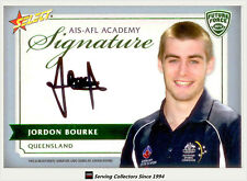 2012 Select AFL Future Force Cards Signature FFS22 Jordan Bourke