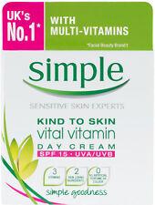 Simple Kind to Skin Vital Vitamin Day Cream (50ml)+ Free Postage