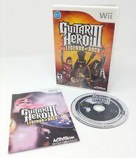Guitar Hero III 3: Legends of Rock - Nintendo Wii - Complete