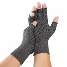 Copper Compression Gloves Carpal Tunnel Arthritis Pain Relief Therapeutic Braces