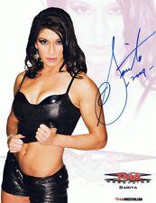 Sarita Signed Autographed 8x10 TNA PROMO Photo - w/COA WWE WWF Wrestling