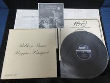 Rolling Stones Beggars Banquet UK Vinyl LP Japan Assembled Issue Interview Flexi