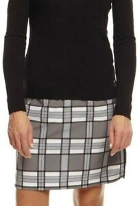 Golftini Skort SIZE 6 Womens Passionate Plaid Pattern NEW WITH TAGS