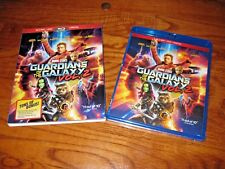 Guardians of the Galaxy: Marvel Vol. 2 Blu-ray/DVD+Digital Copy] NEW + Fast Ship