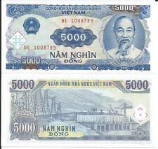 VIETNAM BILLETE 5000 DONG 1991 P 108
