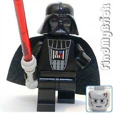 SW434 Lego Star Wars Darth Vader Minifigure with Red Lightsaber 6211 10188 NEW