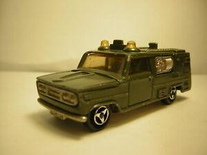 Majorette Dodge militaire  vintage  1/60 n°204