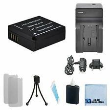 DMW-BLG10 Battery & Charger for Panasonic Lumix DMC-GX7 DMC-GX7KS DMC-GX7S