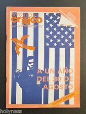 VINTAGE MAGAZINE / PENSAMIENTO CRITICO / PUERTO RICO / JUL / AUG 1986 / #50