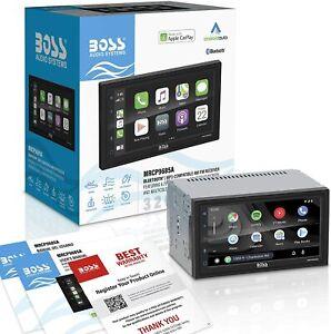 "BOSS AUDIO 6.75"" Digital Media AM/FM/BT® MARINE STEREO Receiver & Apple CarPlay"