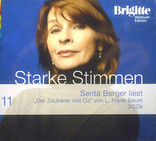 3CD L FRANK BAUM - der zauberer von oz, Brigitte Starke Stimmen 11, Senta Berger