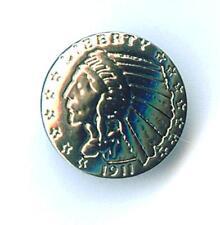 Indian Coin Concho Nieten  Western Indianer zum Schrauben 461