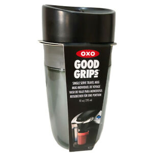 OXO Travel Mug Good Grips 295ml in Graphite Leakproof Double Walled Insulated