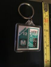 Vintage Key Chain: Metro Greenline, Grand Opening August 12 , 1995